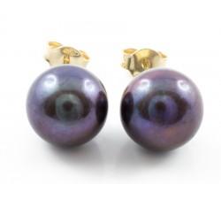 Collana Zaffiri perle e diamanti in oro 18Kt