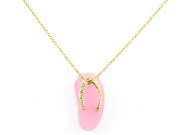Anello perla e diamanti Ct.0,30 in oro 18Kt