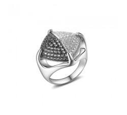 Orecchini pendenti tanzanite e perle in oro 18Kt collezione Paris