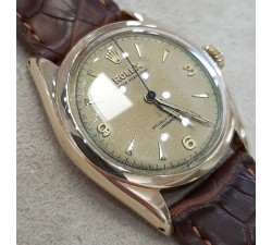 Rolex Oyster Perpetual Bubble Back Ref. 6084 18kt gold