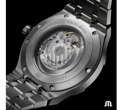Maurice Lacroix AIKON Automatic Blu 42mm AI6008-SS002-430-2 Doppio cinturino
