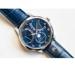 Maurice Lacroix Masterpiece Moonphase Retrograde 43 mm MP6608-SS001-410-1
