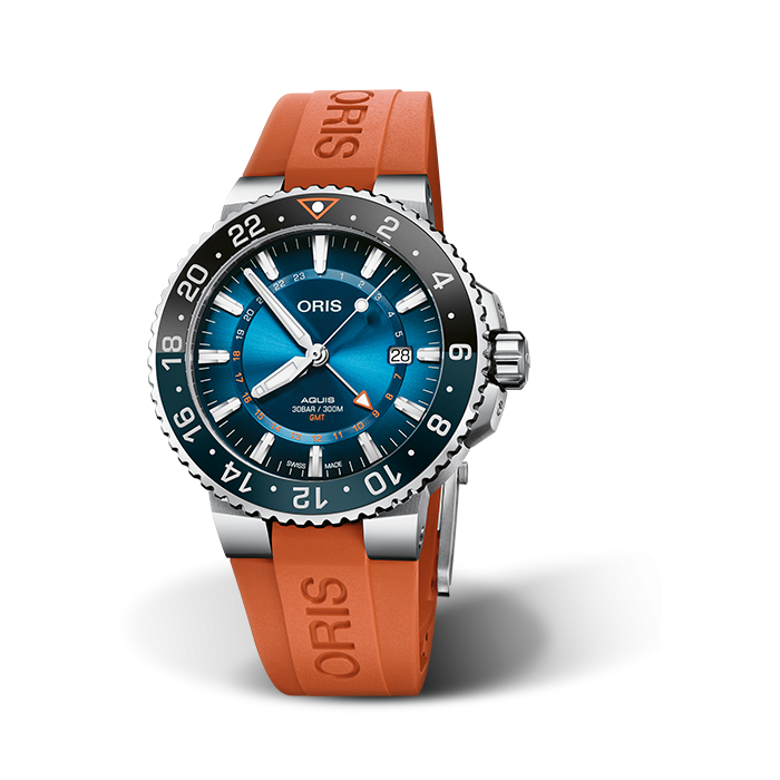 Oris Aquis Carysfort Reef GMT Limited Edition  01 798 7754 4185-Set RS