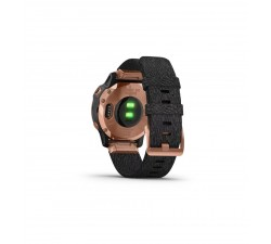Garmin Fēnix 6S PRO Sapphire, Lunetta Rose Gold con Black Nylon Band 010-02159-37