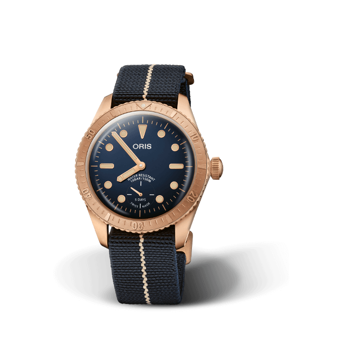 Oris Divers Carl Brashear Calibre 401 Limited Edition  01 401 7764 3185-Set