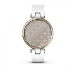 Garmin Lunetta Cream Gold, cassa White e cinturino in silicone 010-02384-10