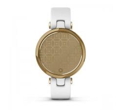 Garmin Lunetta Light Gold, cassa White e cinturino in pelle italiana 010-02384-B3