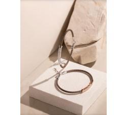 Bracciale rigido in argento 925 con zirconi BR1871NN