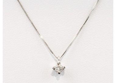 Pendente campana diamanti in oro 18Kt