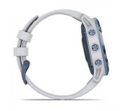 Garmin fēnix 6 Pro Solar Edition Mineral blue con cinturino whitestone 010-02410-19