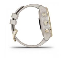 Garmin Descent Mk2S Light Gold con cinturino Light Sand in Silicone 010-02403-01