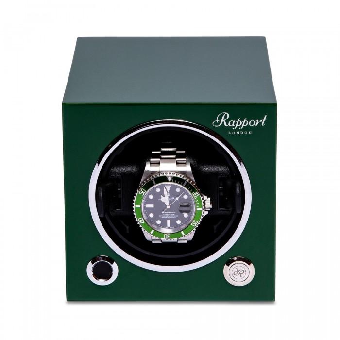 Evo Single Watch Winder Verde Evo24 Rapport London