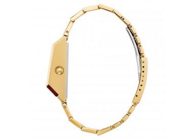 Anello Ametista e zirconi in oro 18Kt modello pomellato