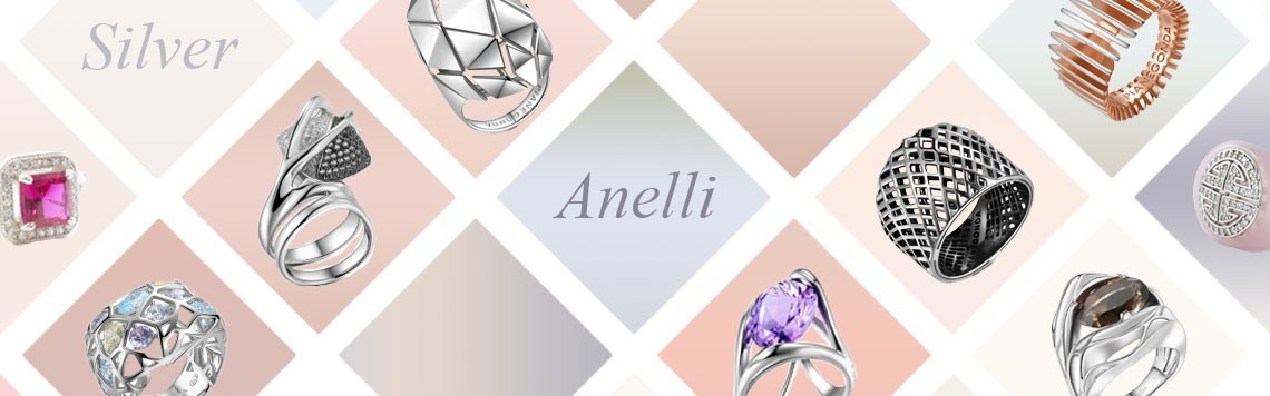 Anelli in argento donna